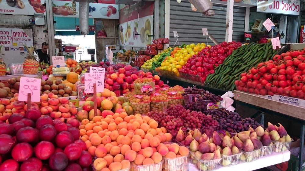 Рынок Кармель— многообразие впечатлений