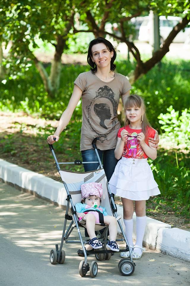 Олеся с Галей и Кристиной