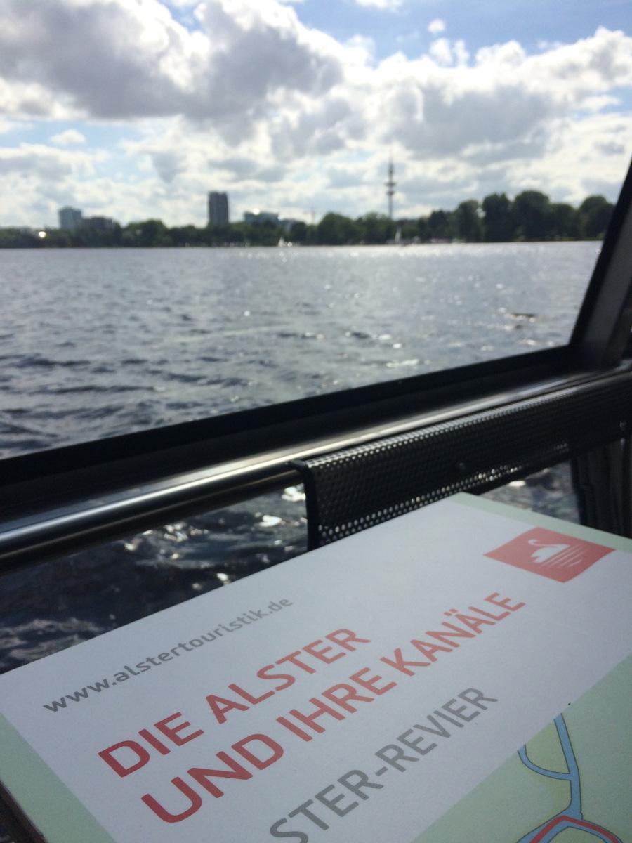 Озеро Альстер. Прогулка накорабле
