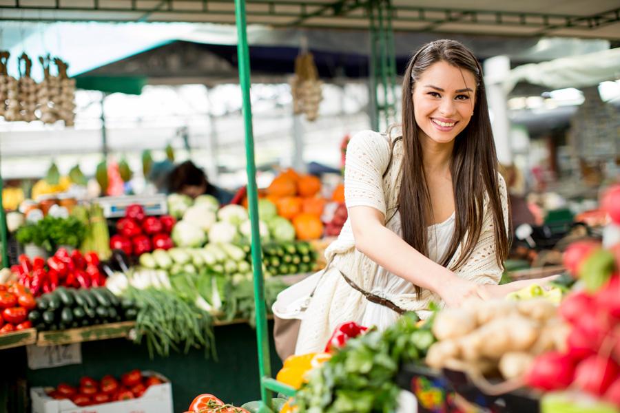 Где купить овощи