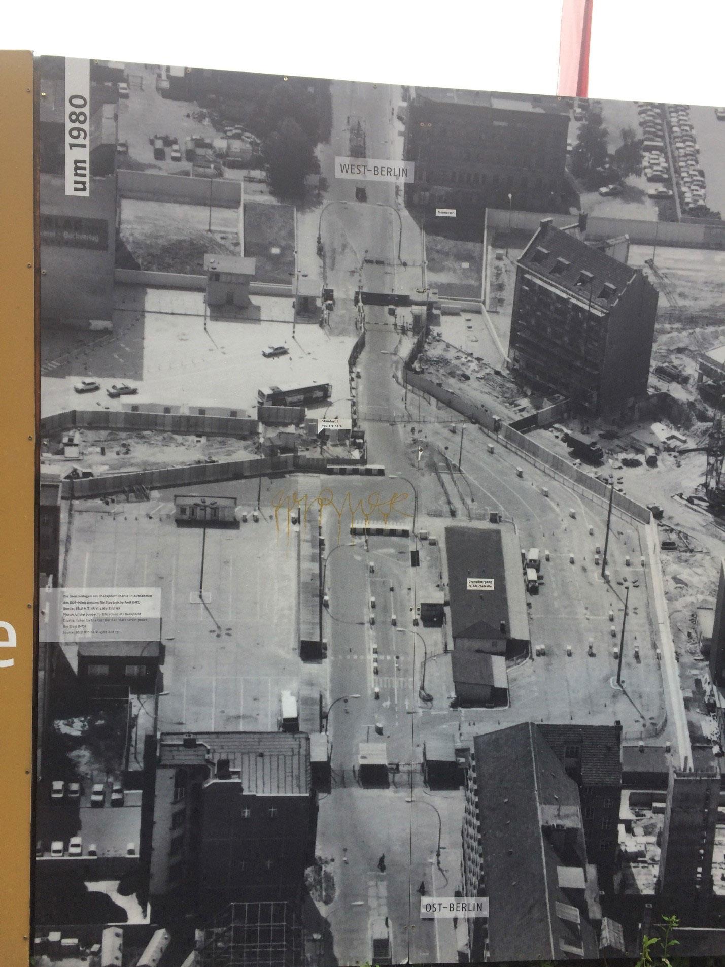 Чекпойнт Чарли/КПП Чарли и Музей Берлинской стены