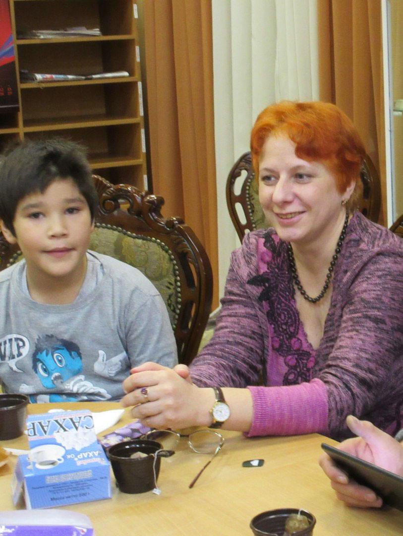 Наставник Ирина и Рустам
