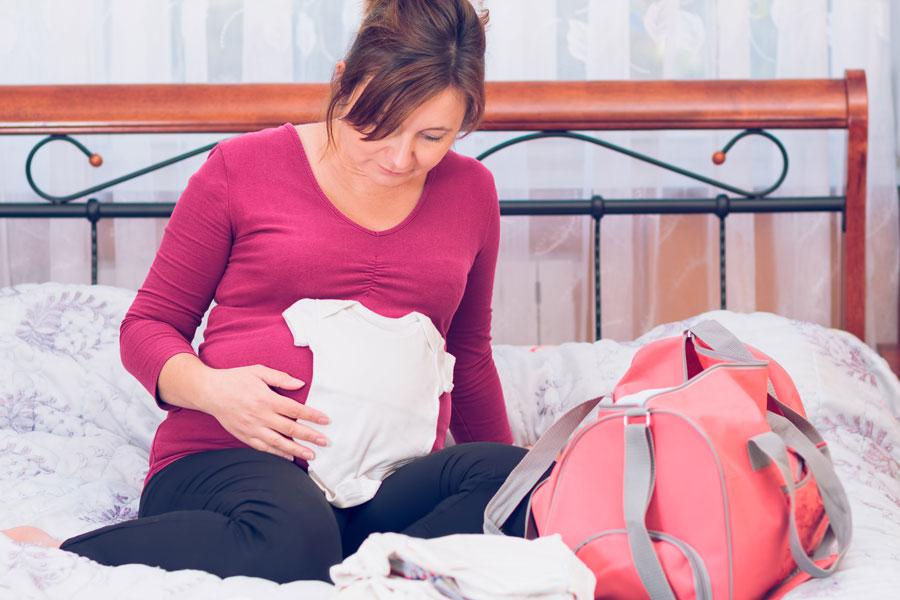 Сумка вроддом: послеродовое отделение