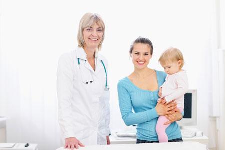 Программа обязательных визитов к детскому педиатру