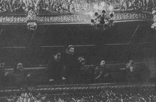 Сентябрь 1947. Интерьер Большого театра