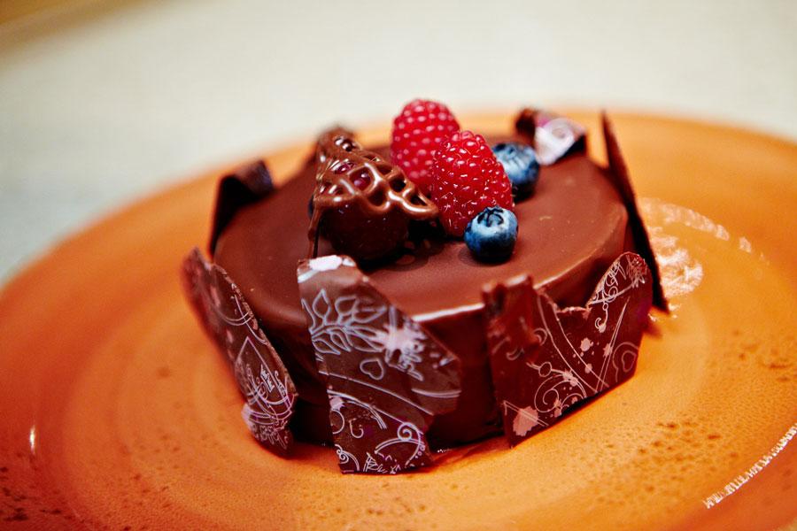 Шоколадный чизкейк отмастера