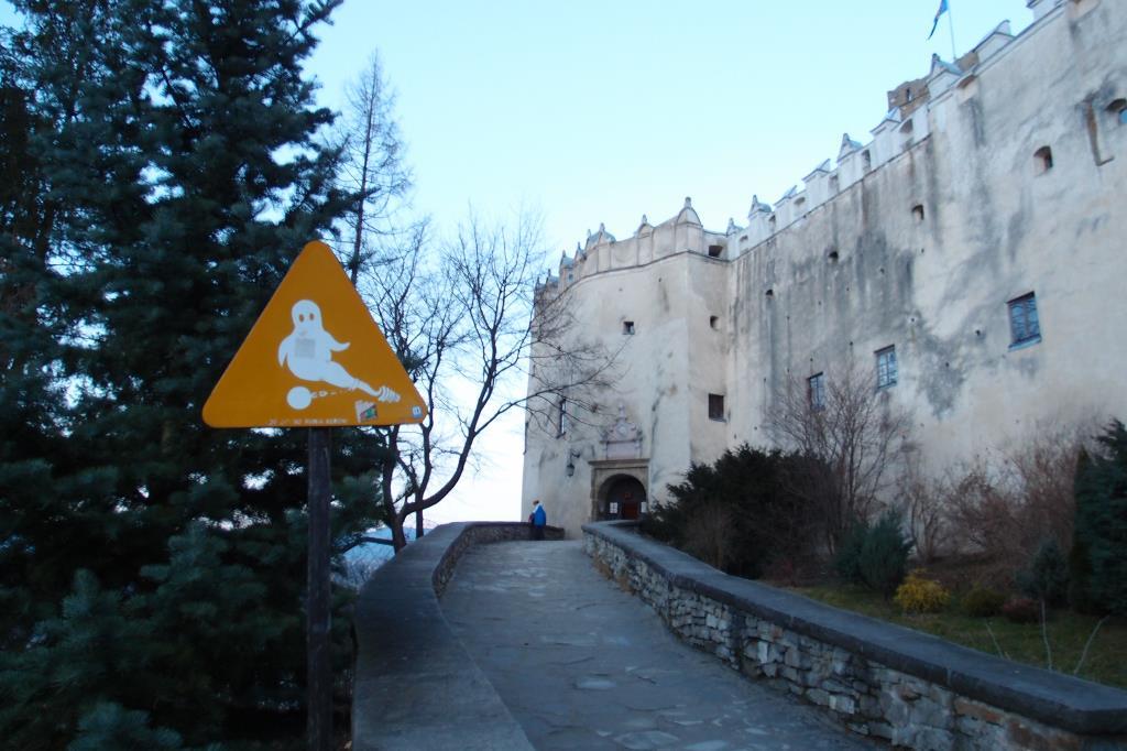 Замок Дунаец иЧорштынское водохранилище