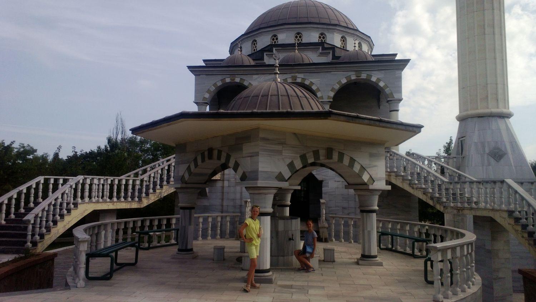 Мечеть вМариуполе
