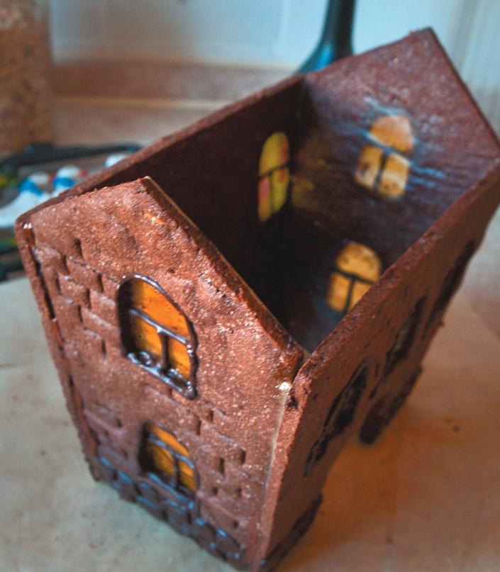 Сборка пряничного домика