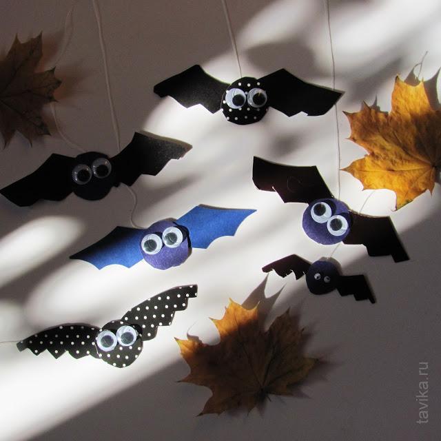 Летучие мыши наХэллоуин