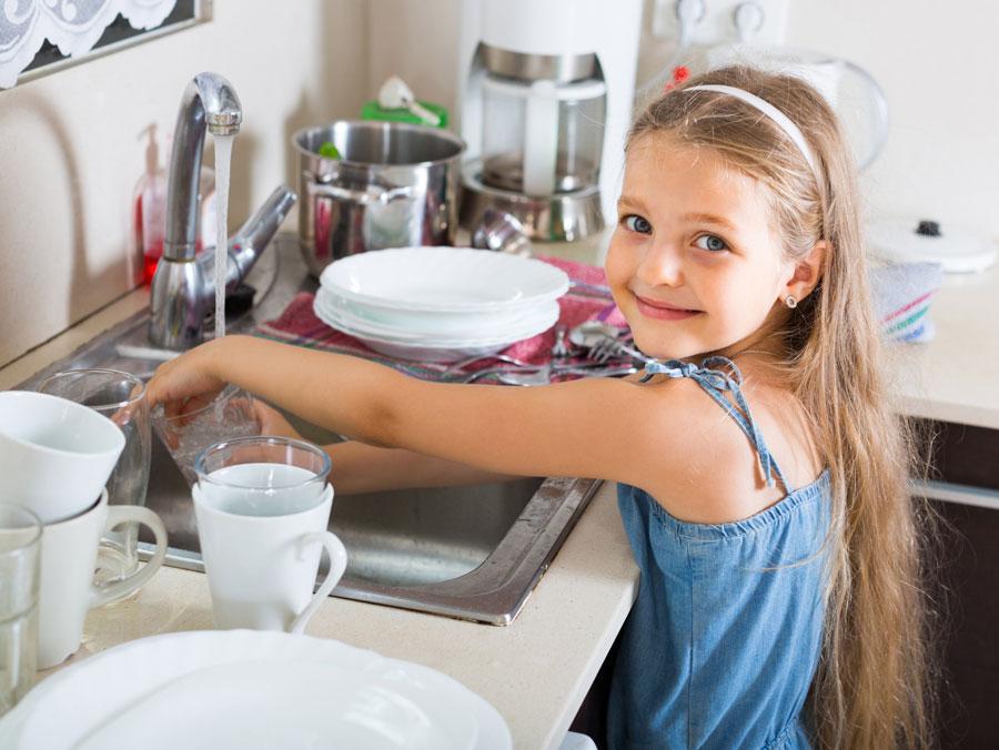 Дети неосваивают бытовые навыки