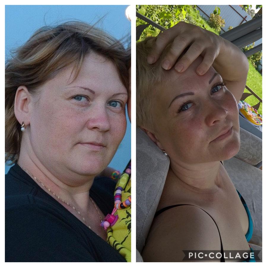 Результаты похудения