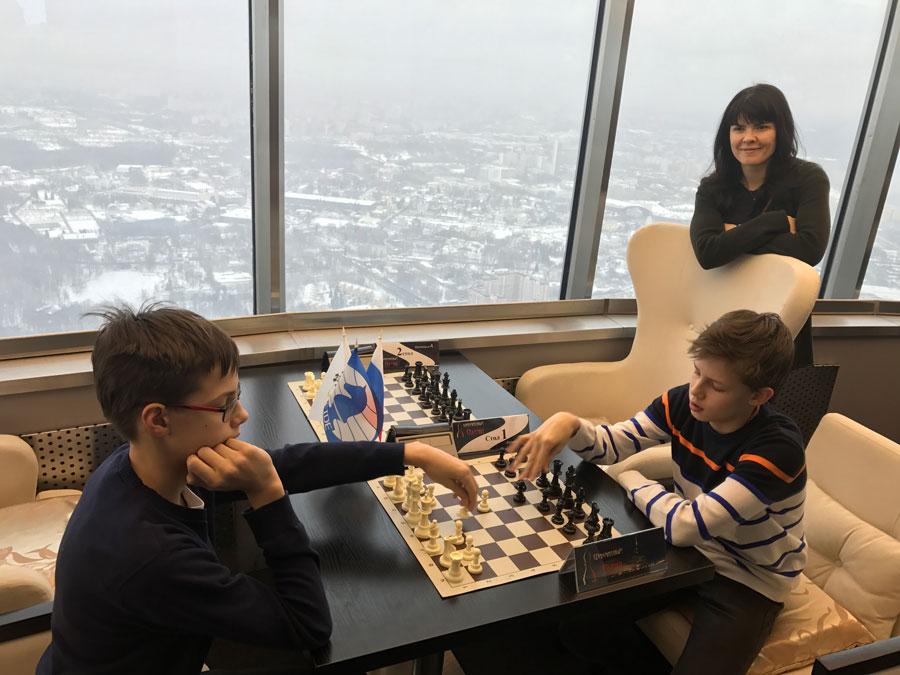 Шахматный турнир наОстанкинской башне