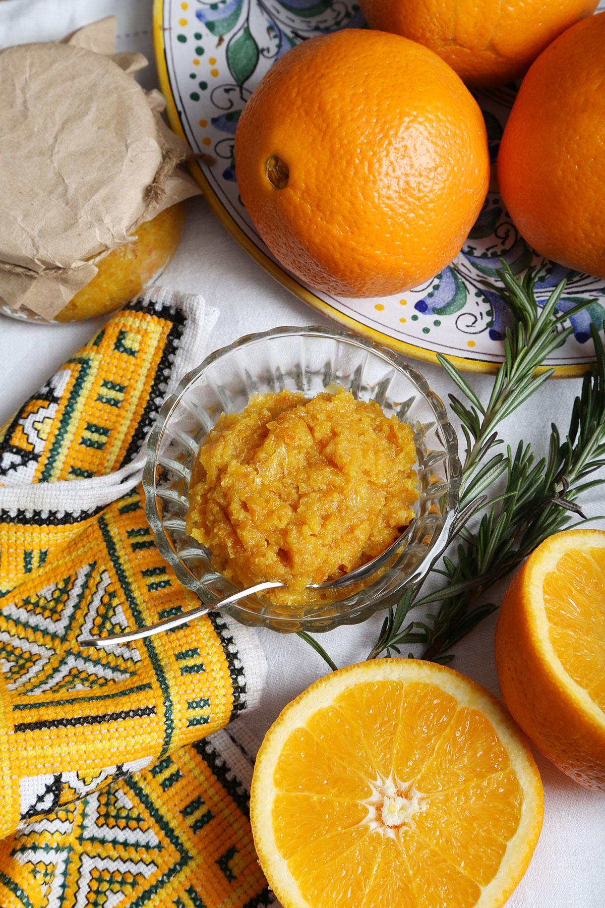 Варенье изапельсинов скожурой