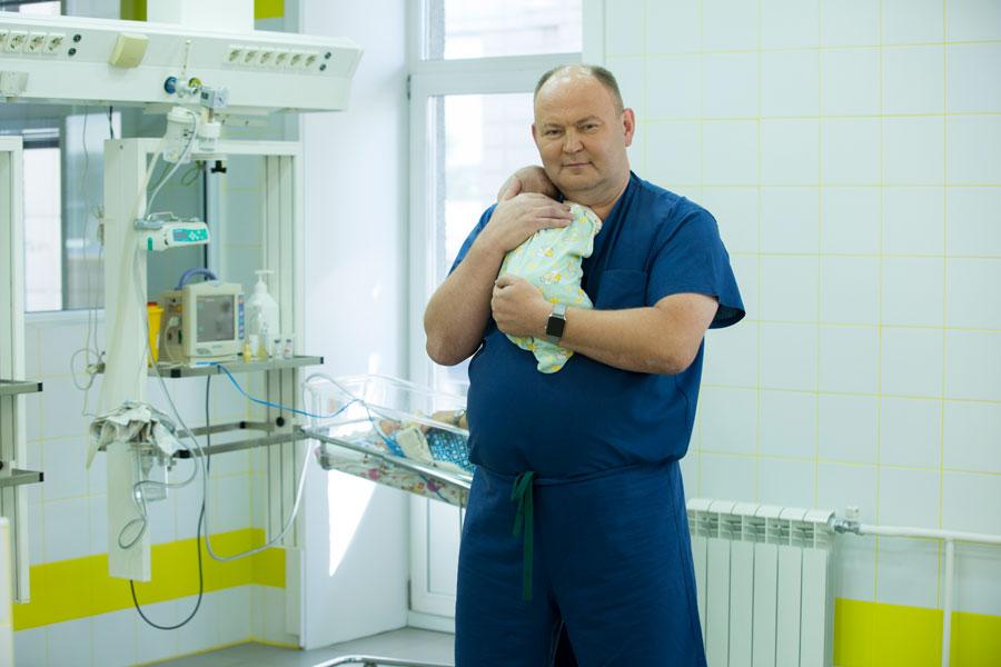 Юрий Козлов, заведующий Центром хирургии иреанимации новорожденных (Иркутск)