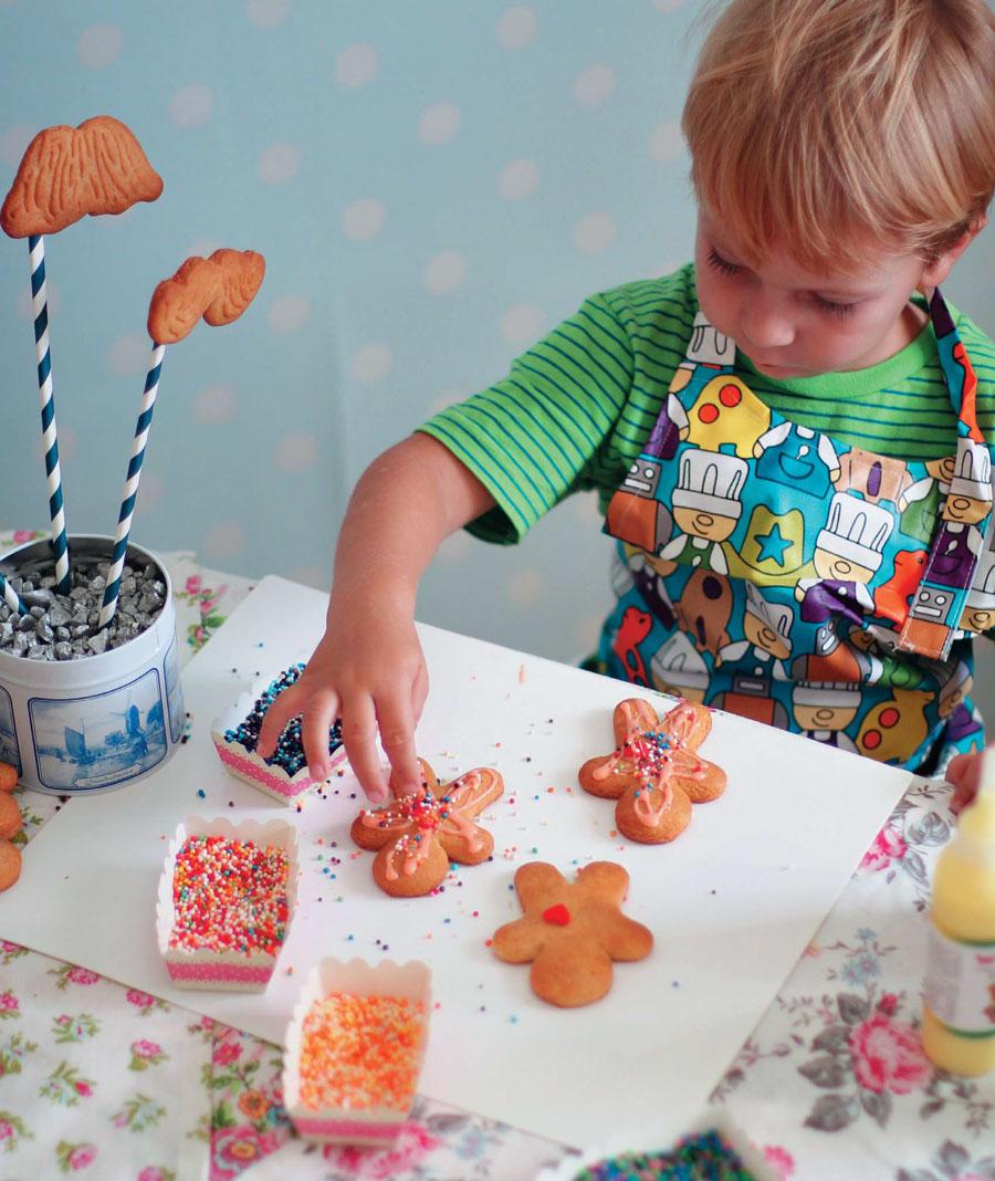 Украшаем печенье глазурью