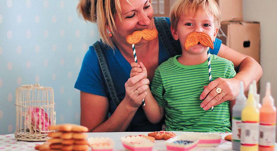 Новогоднее печенье: пряничные человечки