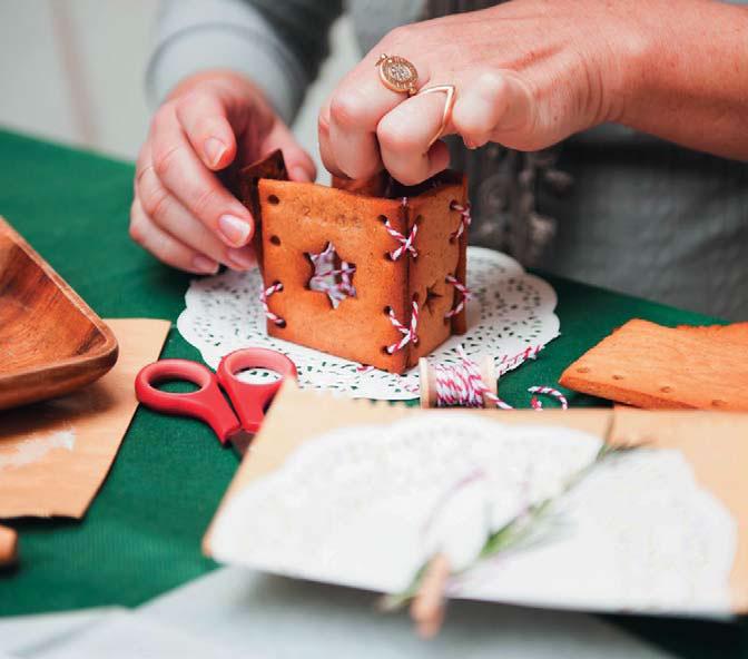 Простой пряничный домик своими руками рецепт 738