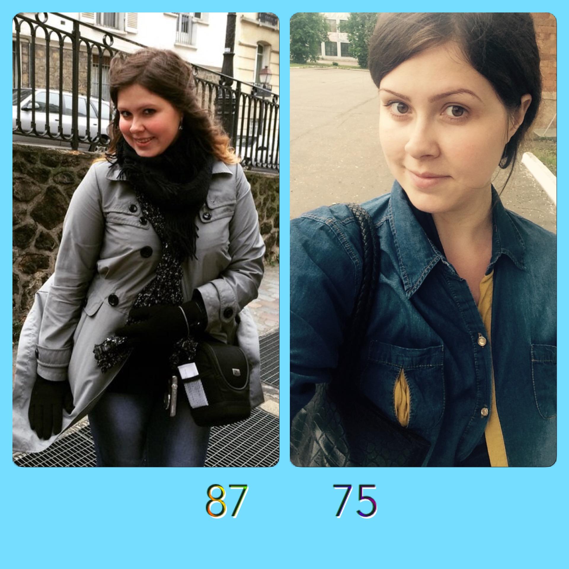 Минус 30 кг, фото до и после похудения