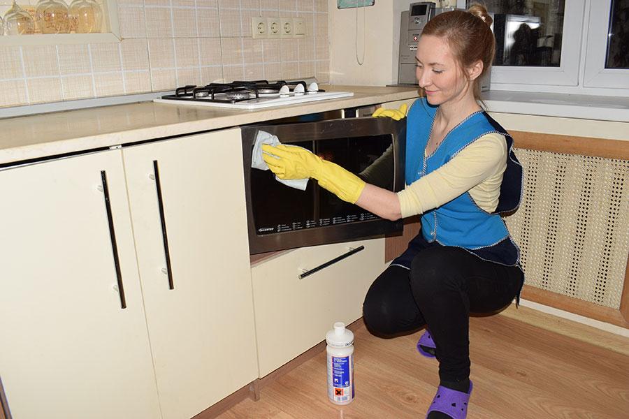 Как правильно убирать кухню?
