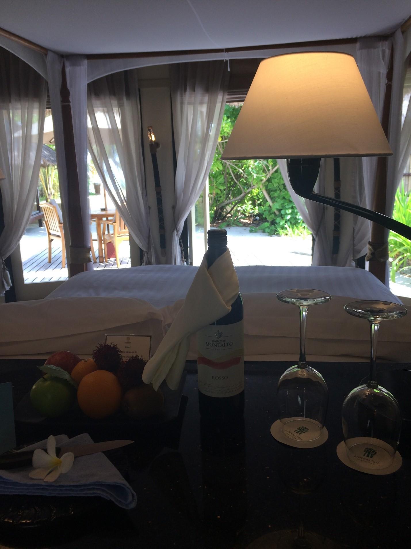 Отель Banyan Tree Vabbinfaru