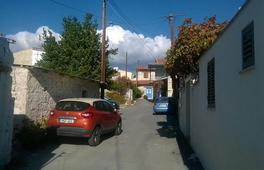 Кипрские деревни: отпобережья вгоры