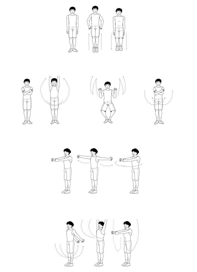 Упражнения для начала дня: дарума тайсо