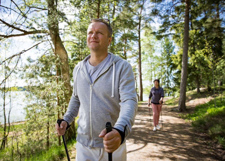 Скандинавская ходьба илечение депрессии