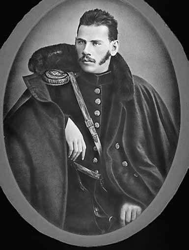 Л.Н. Толстой. Фотография М. Абади. Фирма Шерер, Набгольц иК°. 1854. Москва