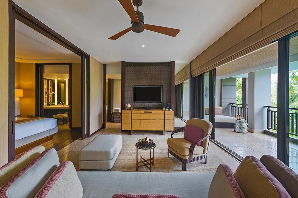 Размещение вThe Ritz-Carlton, Bali: виллы иномера немного попроще
