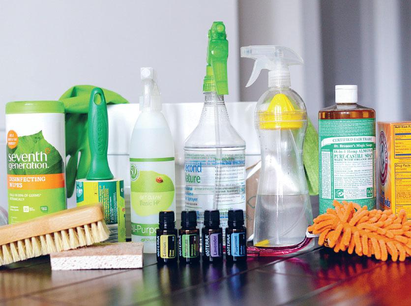 Экологичная уборка кухни: чистящие имоющие средства своими рукам