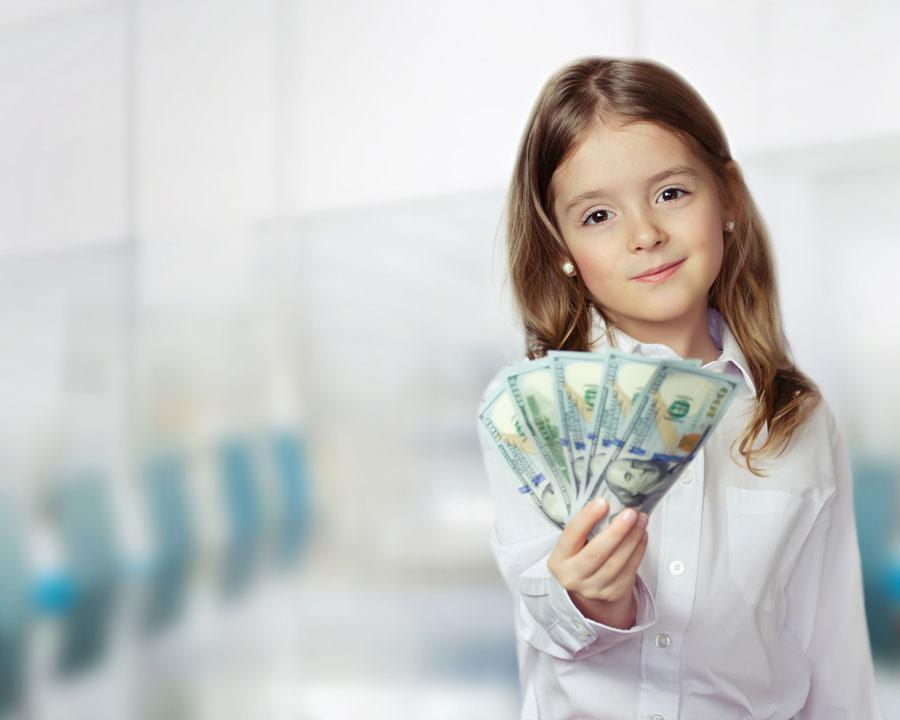 Дарить ли детям деньги?