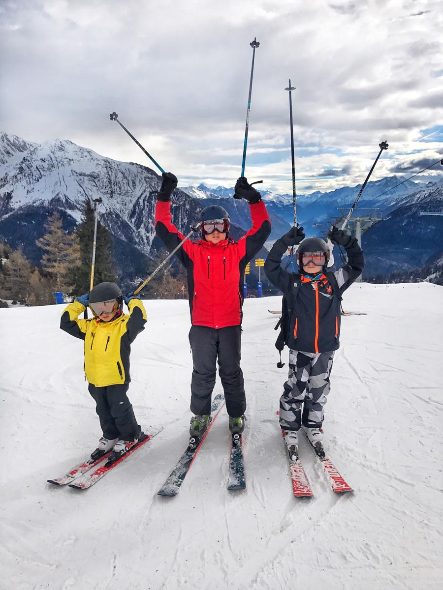 Какой горнолыжный курорт выбрать для детей?