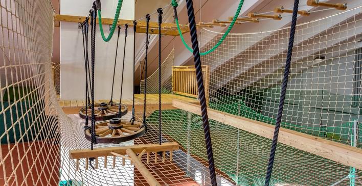 Детский спортивный центр вотеле Wellness-Residenz Schalber