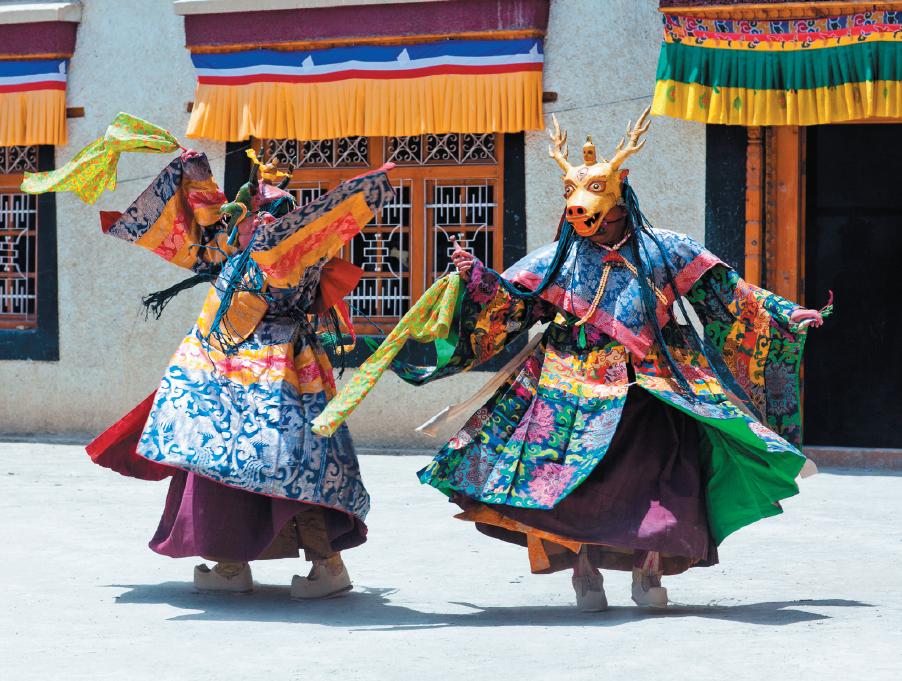 Как празднуют восточный Новый год вТибете