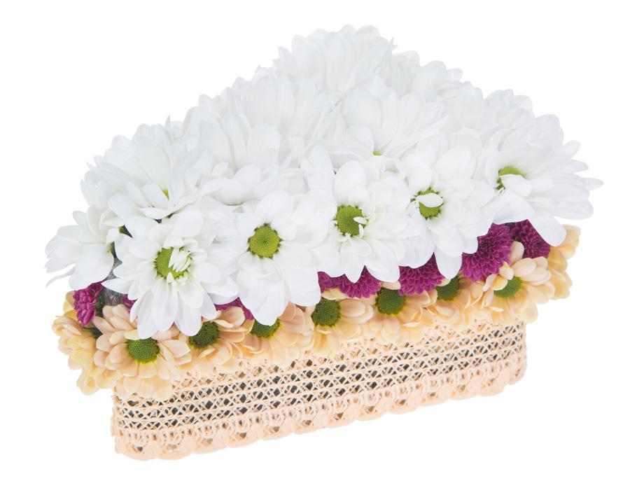 Как оформить цветы в подарок на 8 марта