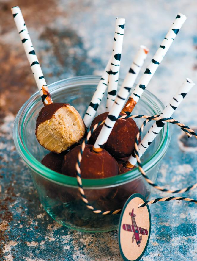Нуто-чупсы— конфеты своими руками