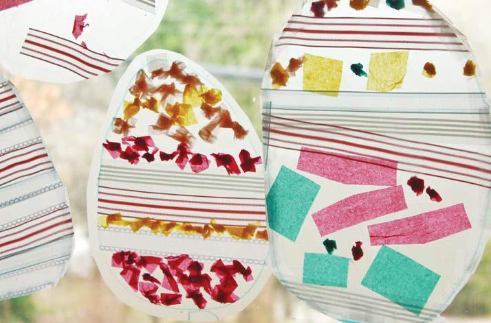 Ловушки для солнца: пасхальные украшения