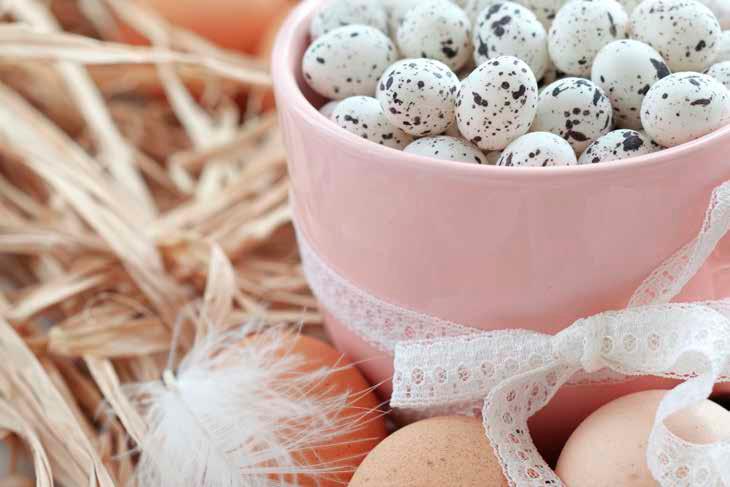 Подготовка кпокраске яиц