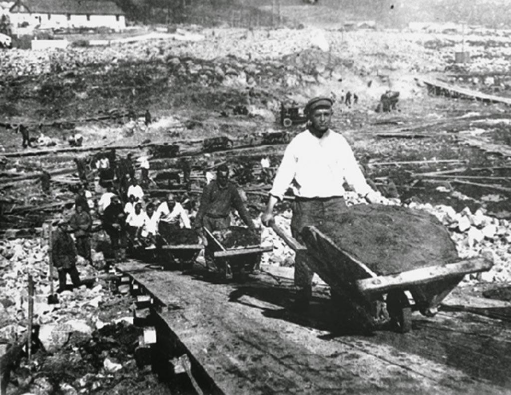 Стройка, 1930-е годы