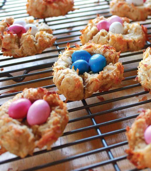 Печенье ввиде птичьих гнезд