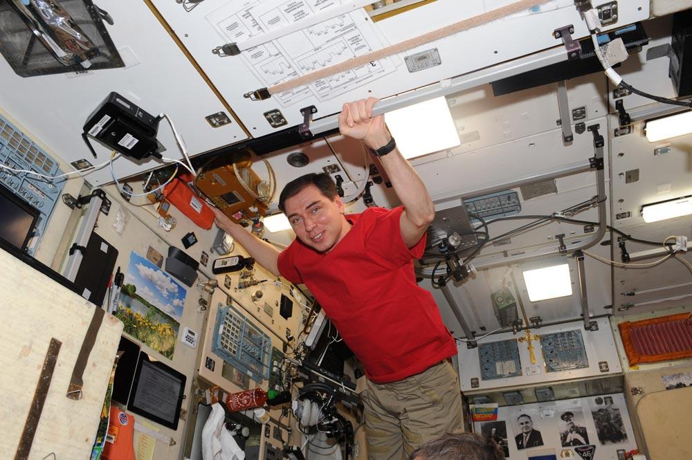 Интервью с космонавтом Волковым
