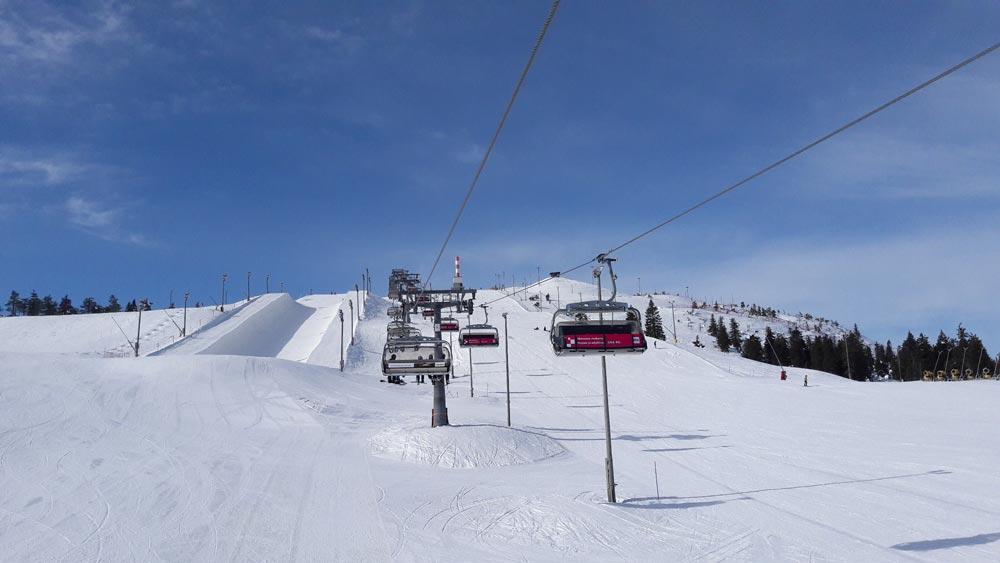Горные лыжи вРука
