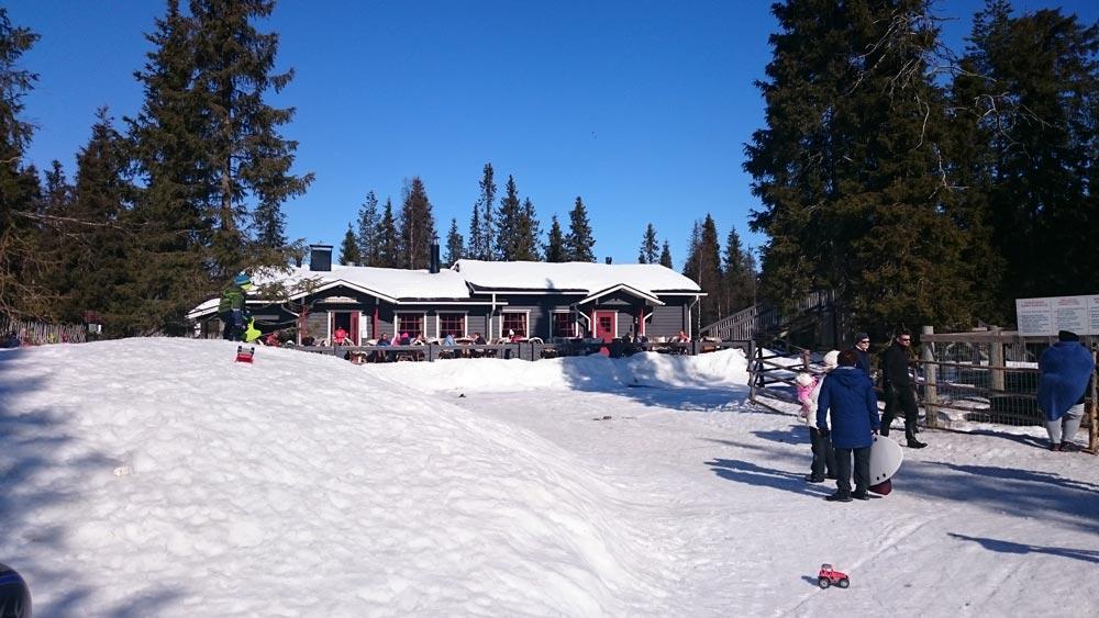 Зимняя деревня Lammintupa