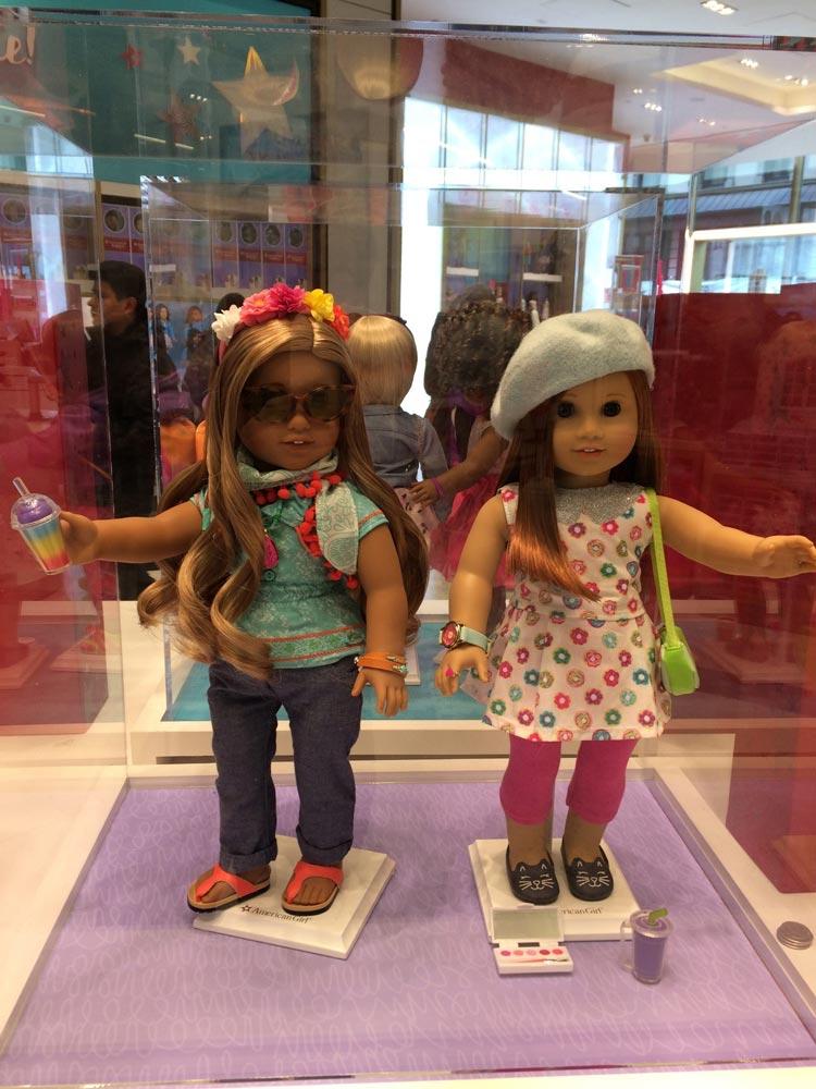 Девчачий рай— кукольный магазин American Girl