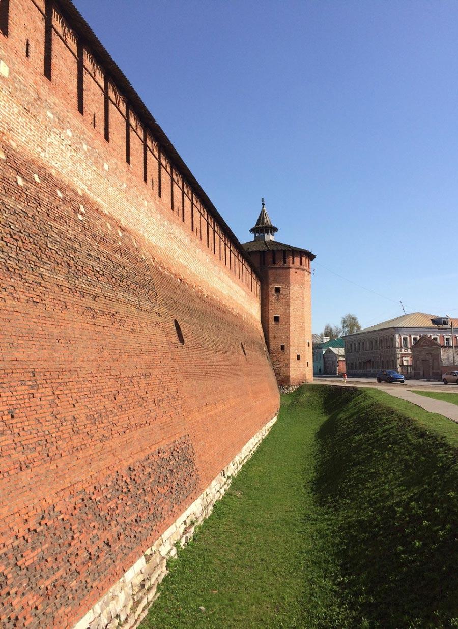 Грановитая башня Коломенского кремля
