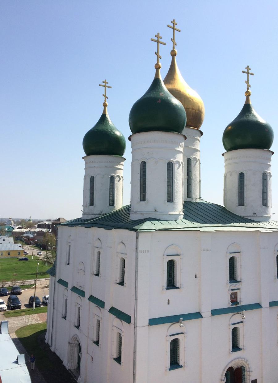 Что посмотреть в Коломне: Успенский собор