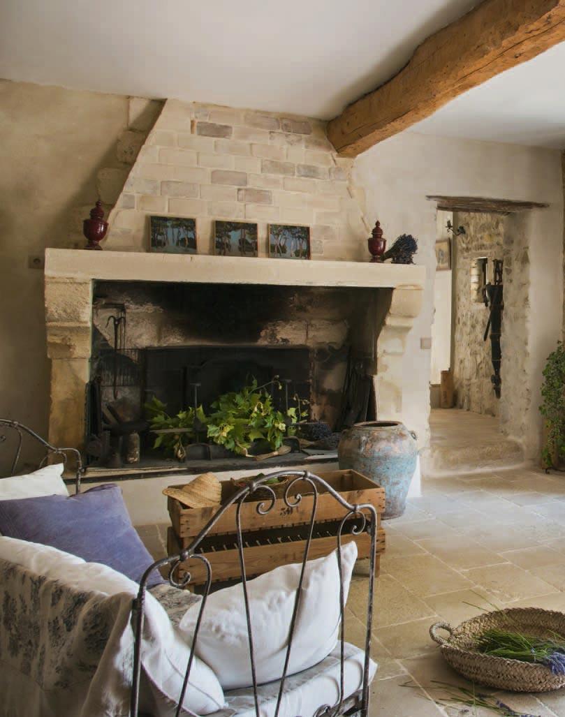 Интерьер прованс: цвета, мебель, ткани