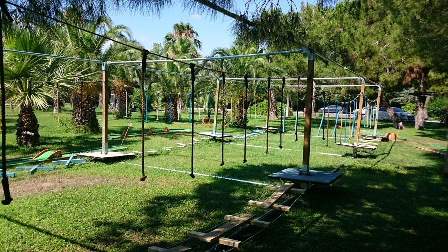 Мини-клуб иверевочный парк