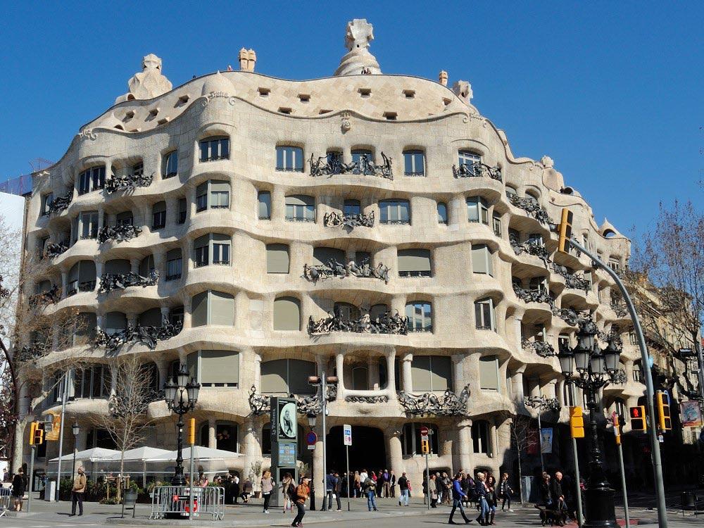 Каса Мила в Барселоне
